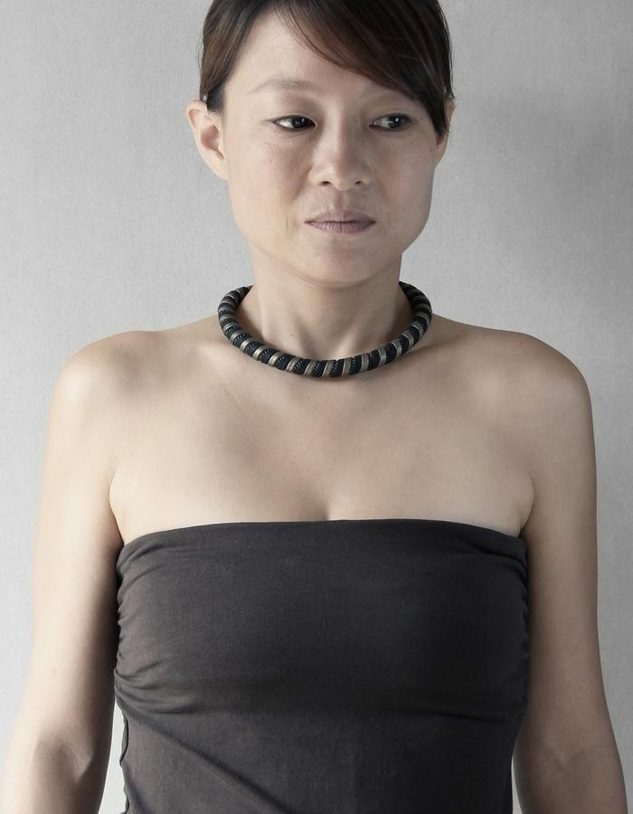 Ilana Bronze Small Necklace / Bracelet by Vulantri