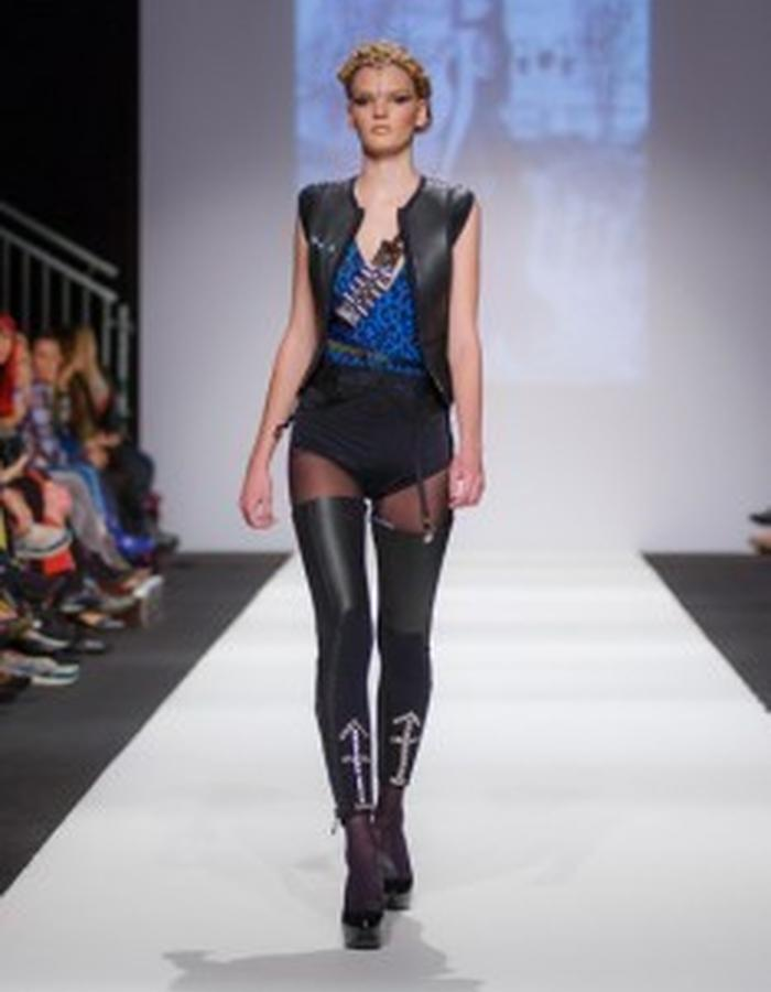 Tijana and Mila Popovic collection After Colors at MQ Vienna Fashion Week