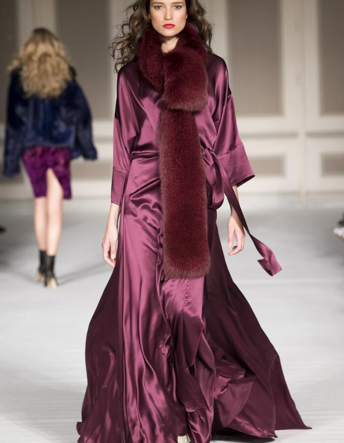 London Fashion Week - Ong-Oaj Pairam Autumn Winter 15