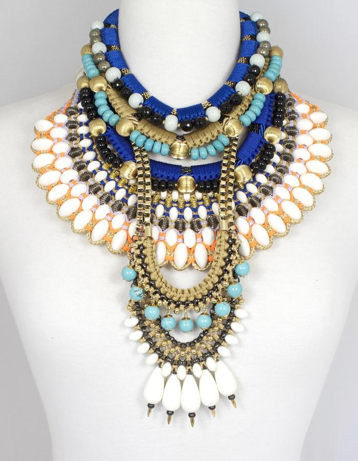 Handmade statement jewellery by Sollis