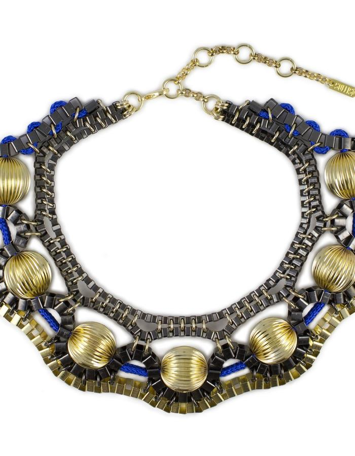 Orbital statement necklace