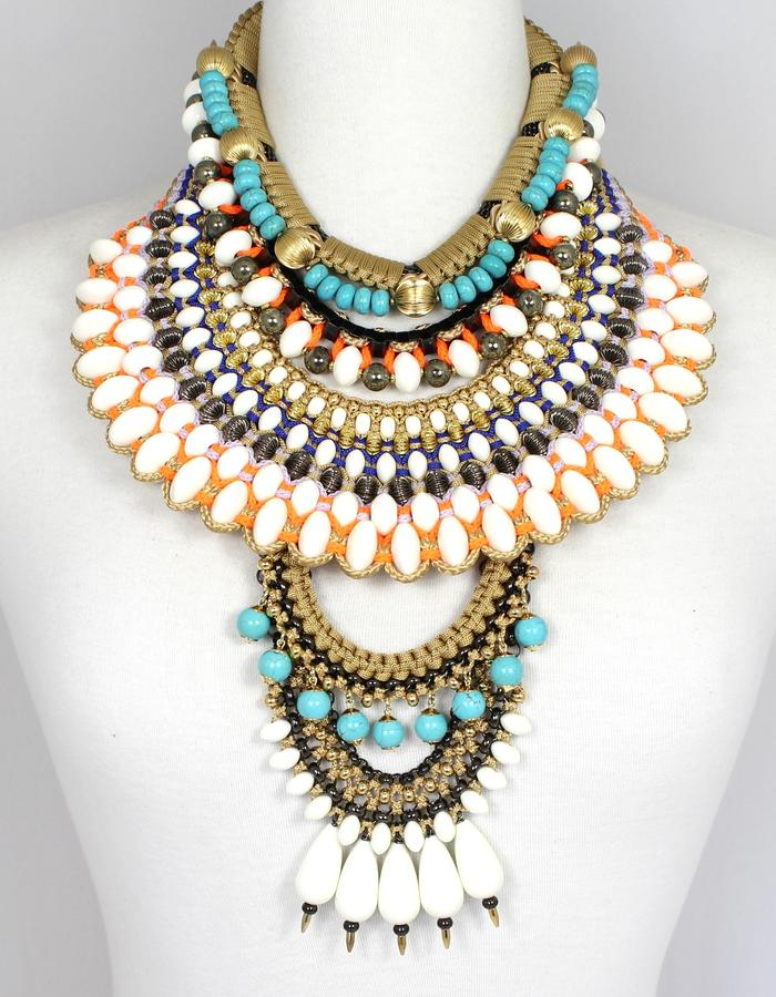 Tribal fusion statement jewellery by Sollis