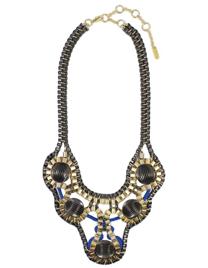 Warrior statement necklace by Sollis
