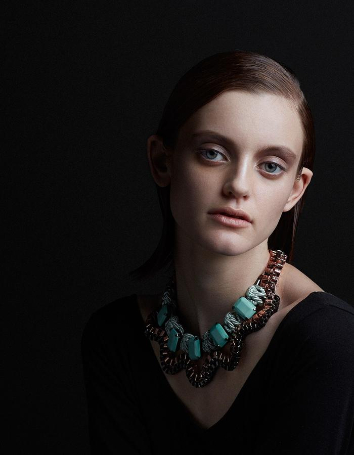 Lunar necklace by Sollis