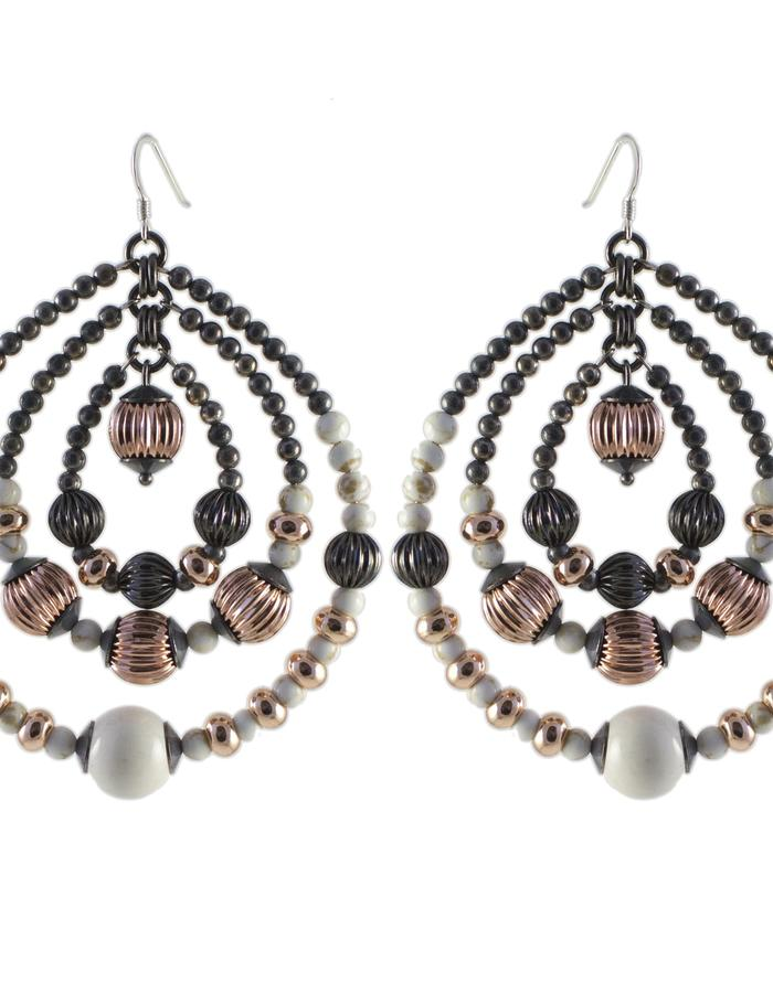 Orbital earrings by Sollis