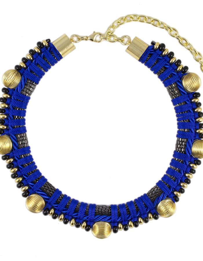 Saturn necklace choker by Sollis