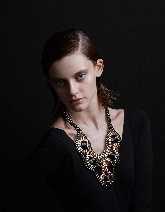 Galactica necklace by Sollis