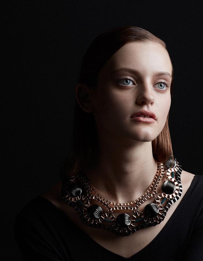 Orbital necklace by Sollis
