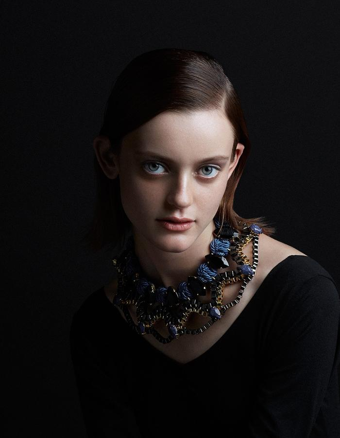 Eclipse necklace by sollis