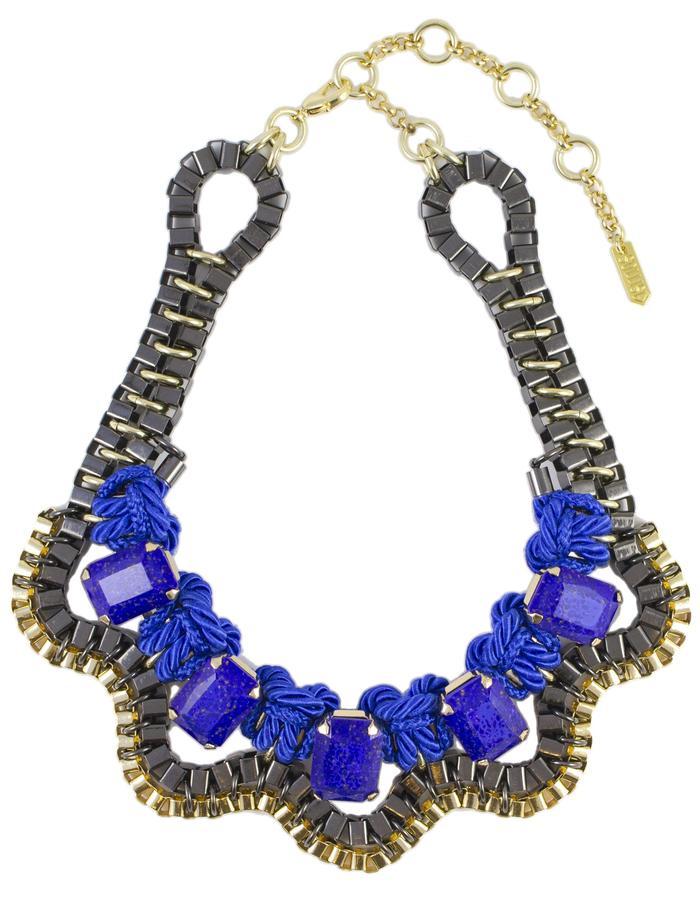 Blue Lunar necklace by Sollis