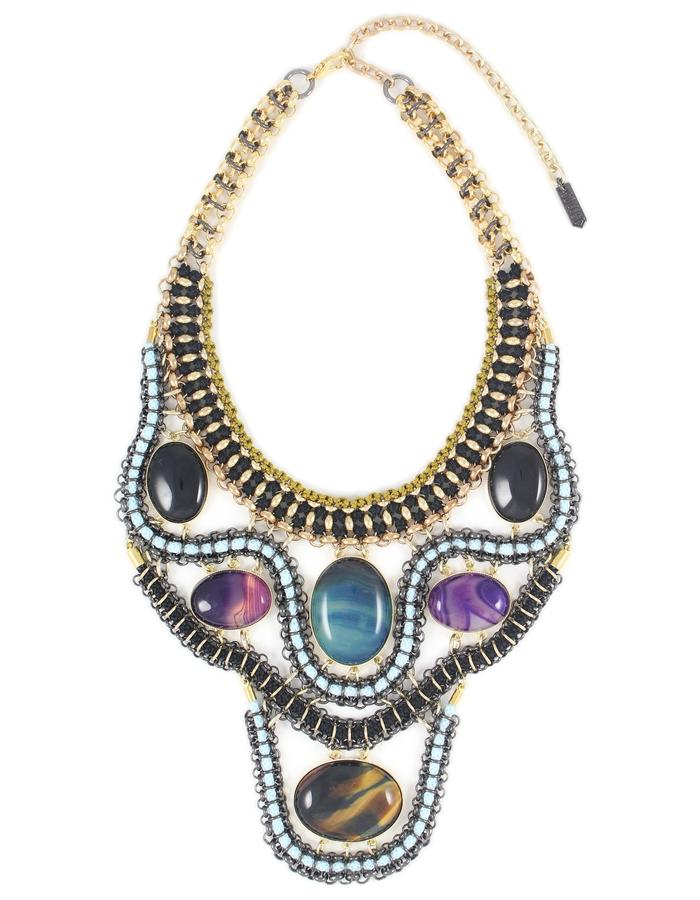 Evil eye necklace by Sollis