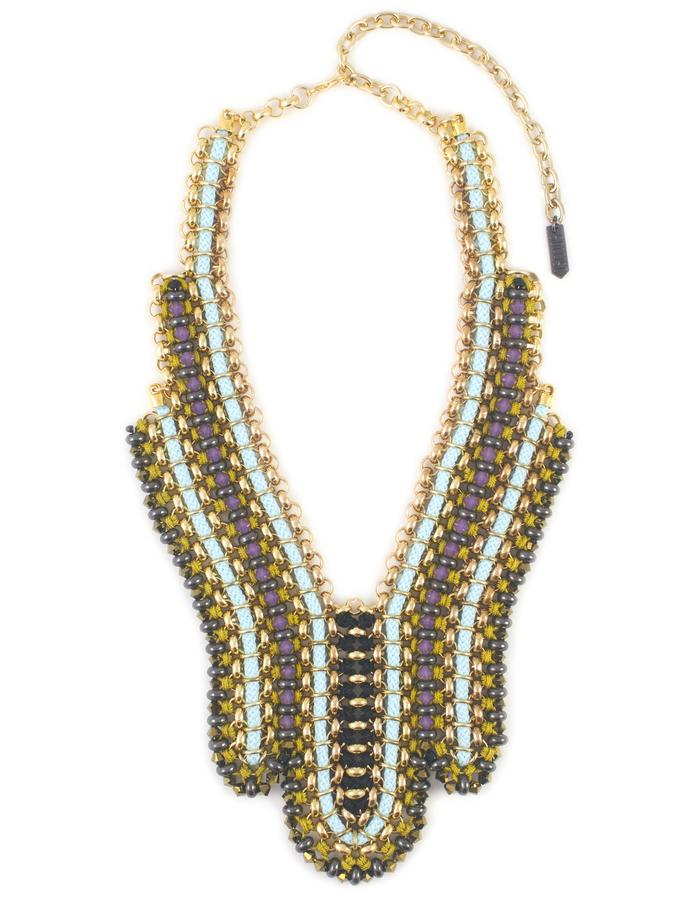 Swarovski crystal deco Horizon necklace