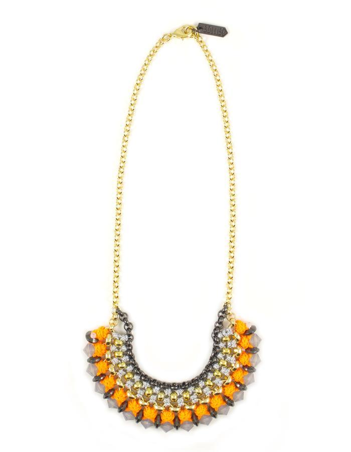Swarovski crystal necklace by Sollis