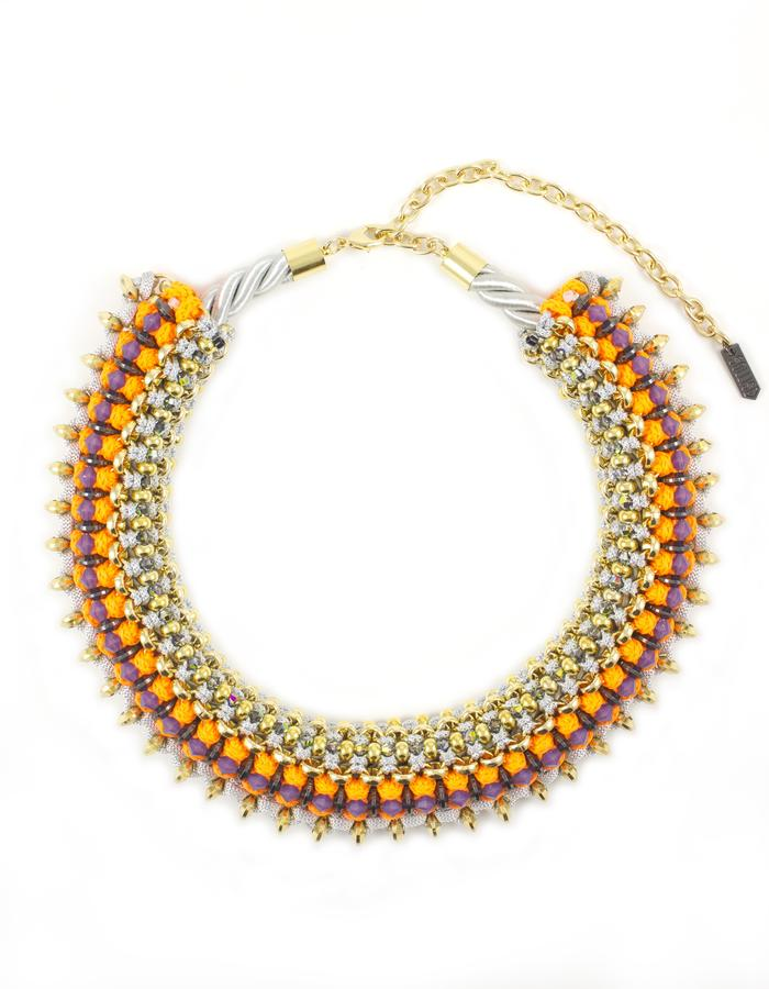 Geo necklace by Sollis