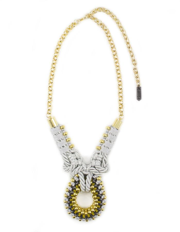 Knot necklace by Sollis