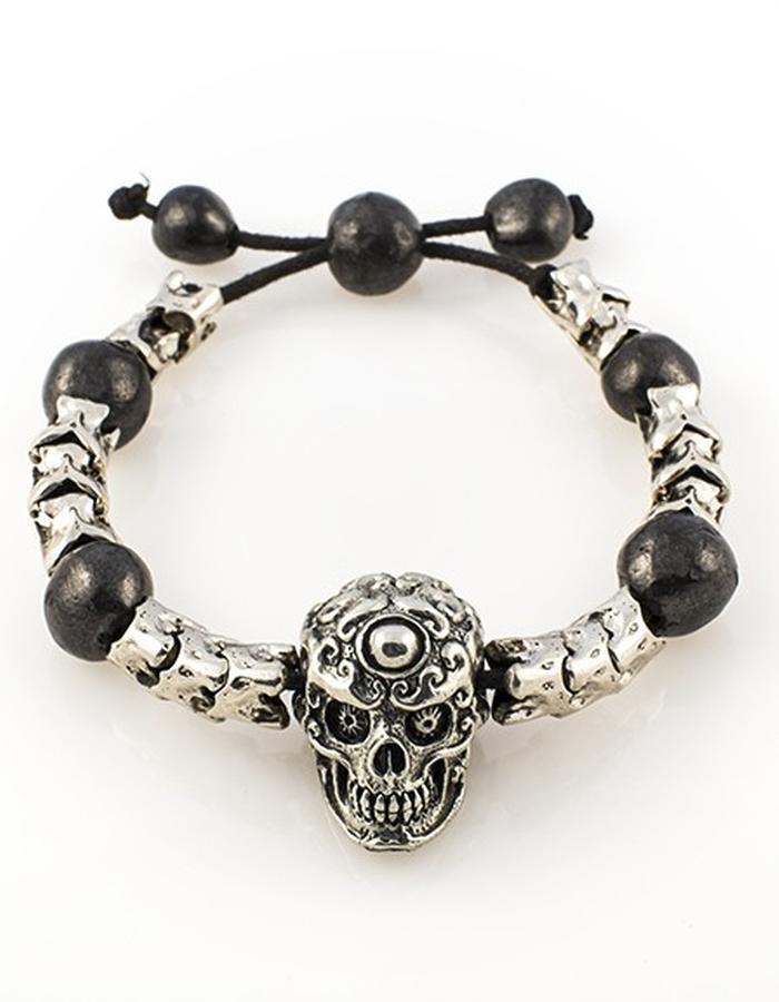 Skulls: Bracelet w/ medium skull