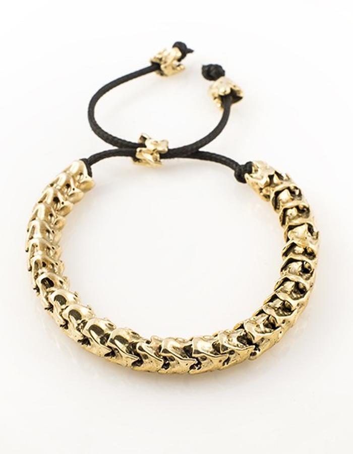 Skulls: Vertebrae bracelet