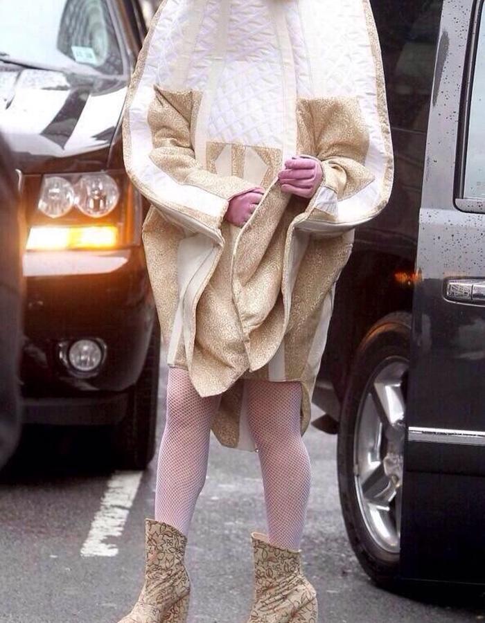 Lady Gaga AW 14/15 at her birthday 2014