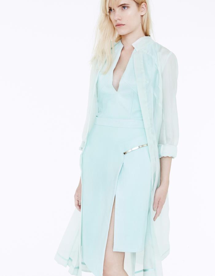 Judy Top & Kim Skirt & Loretta Coat