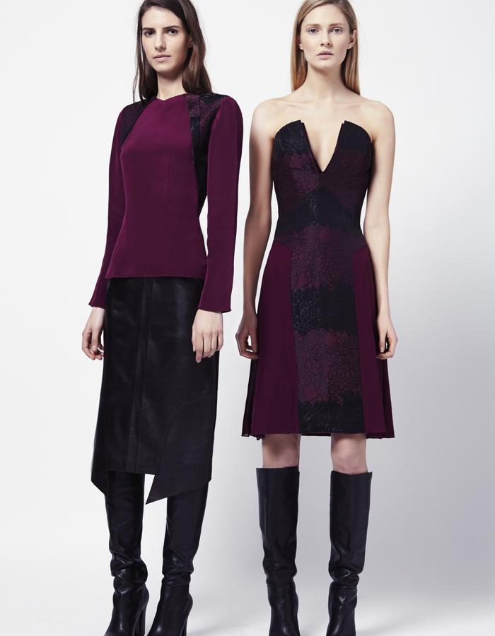DOT TOP   JOYCE SKIRT   YOLANDA DRESS