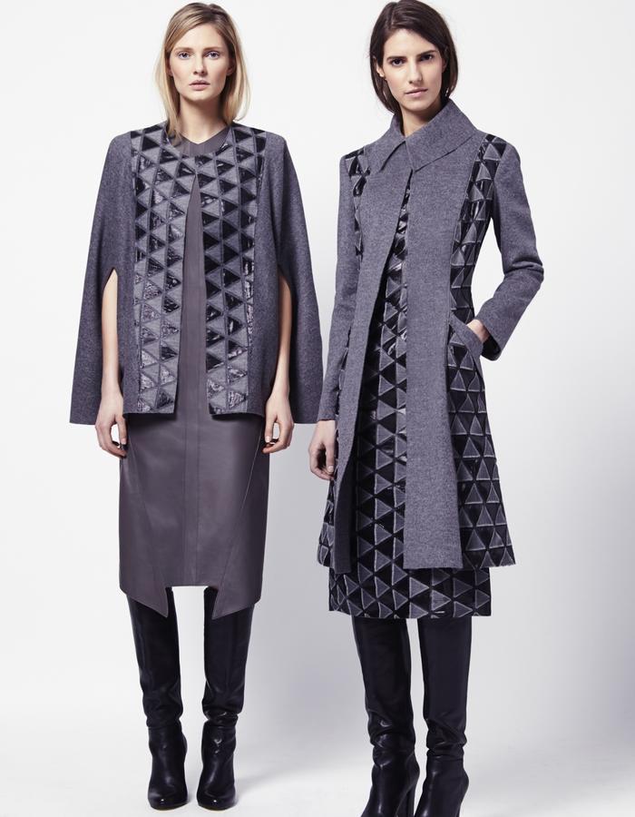 ANETTE CAPE   PEGGY DRESS   NORMA COAT   MIRIAM DRESS