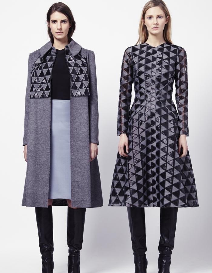 ROSALEEN COAT   EDITH TOP   HILARY SKIRT   CONNIE DRESS