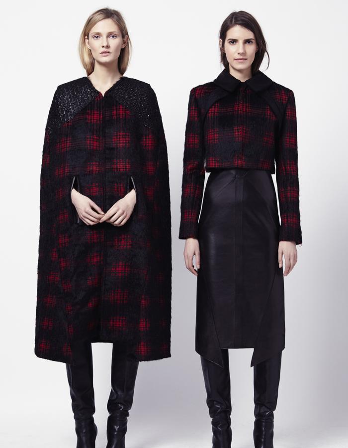 MURIEL CAPE   BRANA COAT   PEGGY DRESS