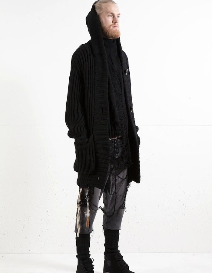 knithoodie x ruff merino scarf