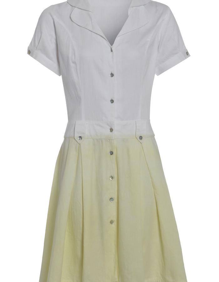 Outsider Weld Dye Shirt Dress