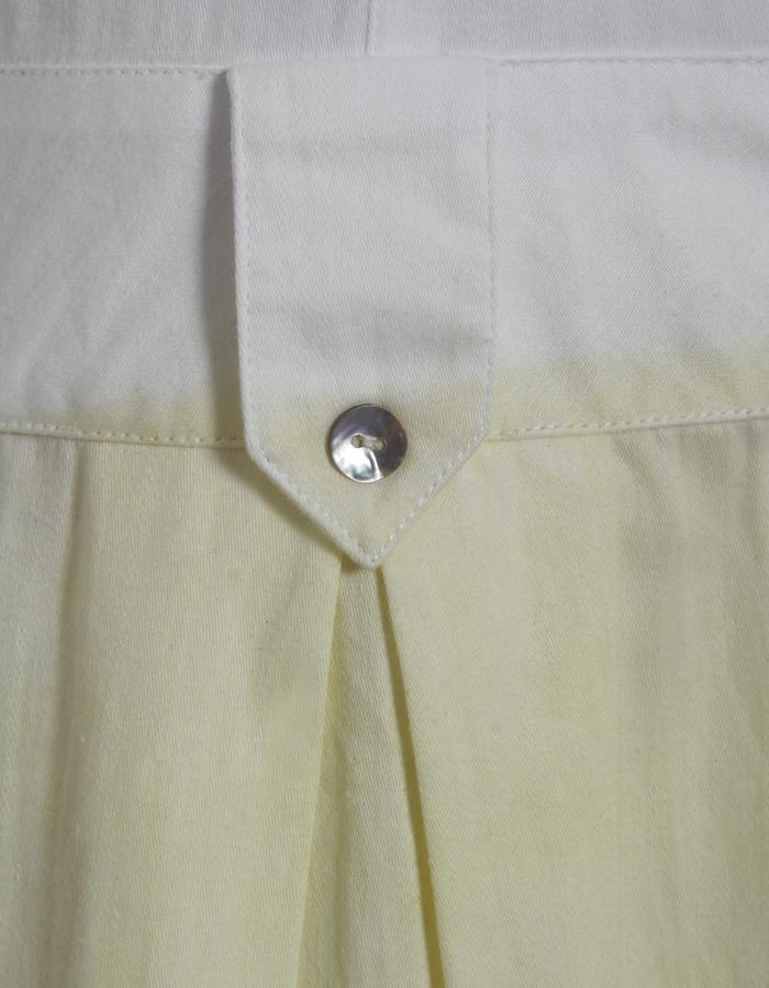 Outsider Weld Dye Shirt Dress - detail