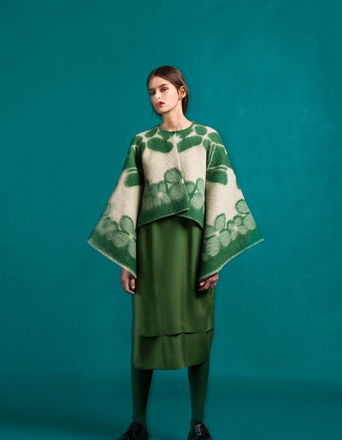 Marit Ilison Longing For Sleep Resort 16 Cactus Green Short Cape