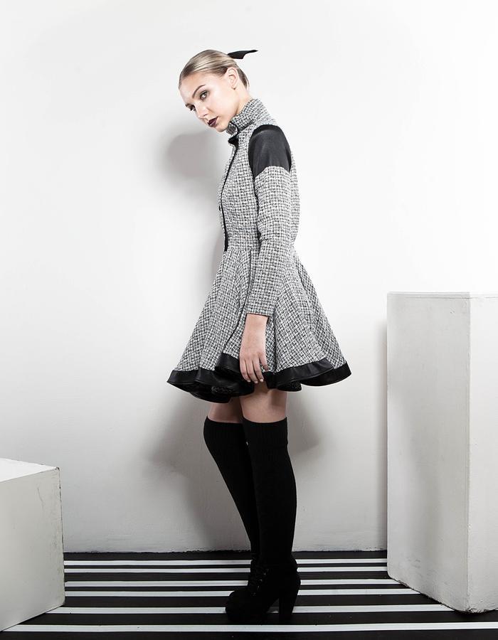 The Dress Coat side