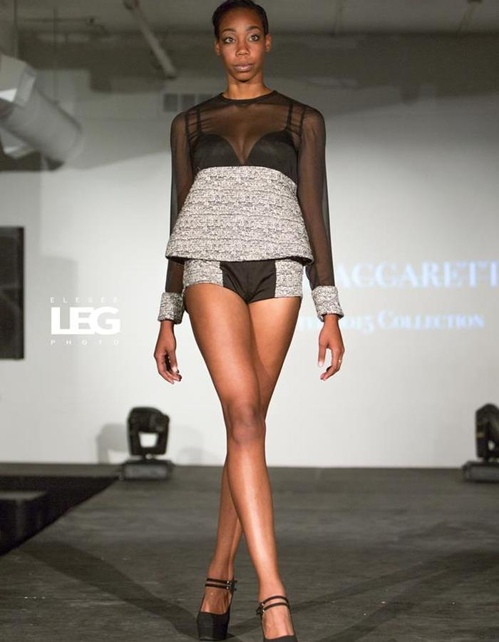 Tweed Hot Pants Outfit