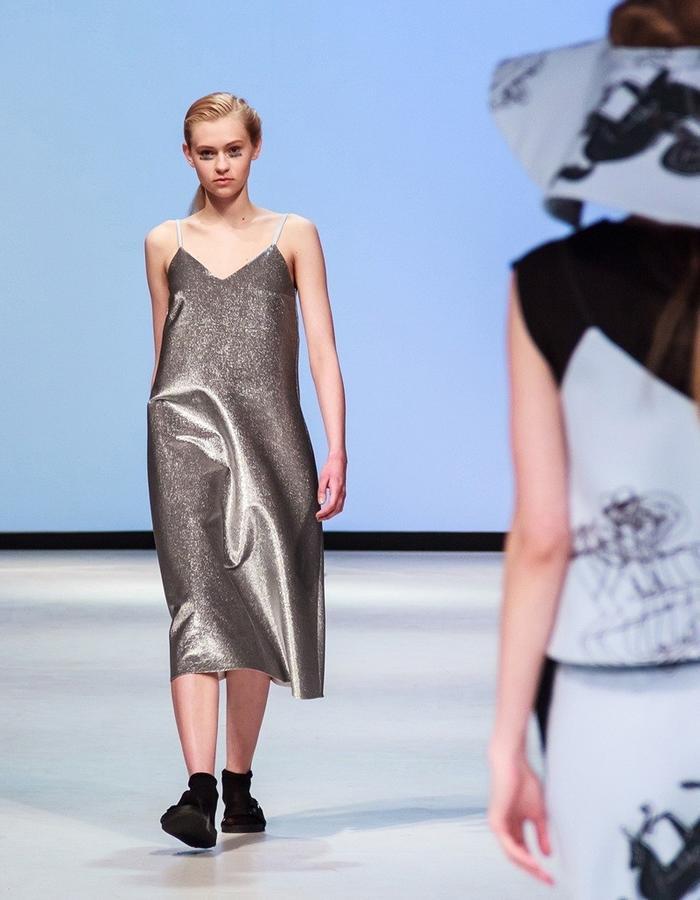 JOLIE SU runway look Mercedes Benz Fashion Show Warsaw