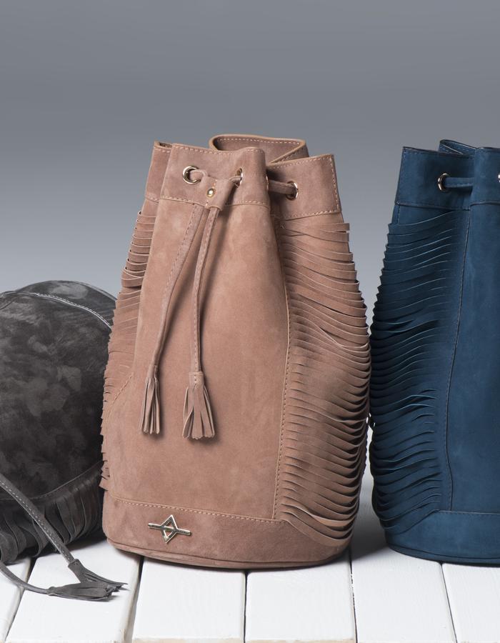 Kuhn bag in suede