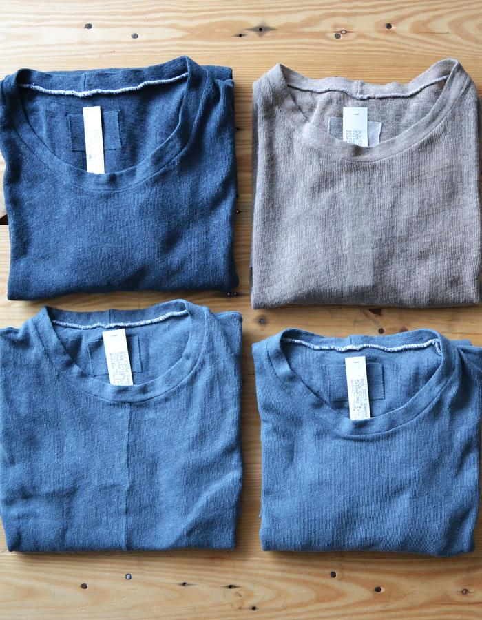 Hand-dyed cotton cheesecloth tops