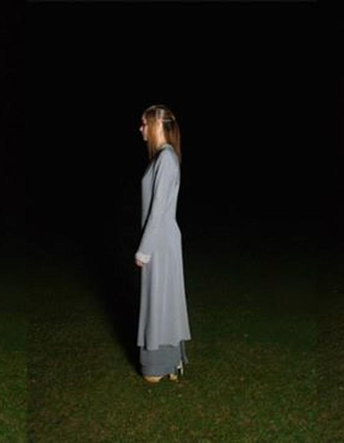 Outfit shot from night-time photoshoot
