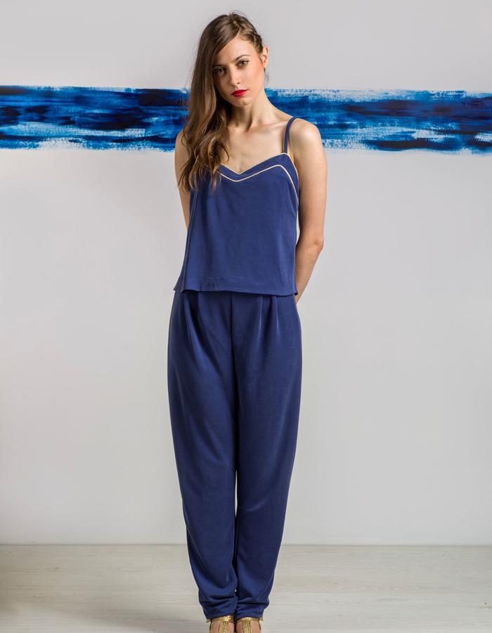 Blue jumpsuit ss15 LIVLOV
