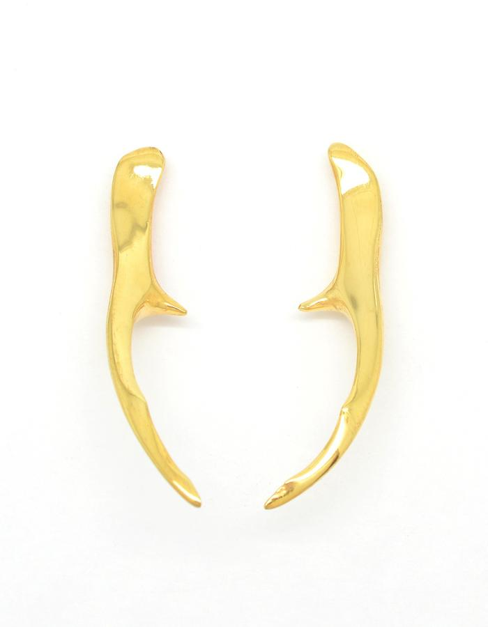 Aurum Cervus Stud Earrings