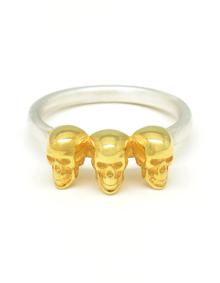 Contra Triplex Calvariam Ring