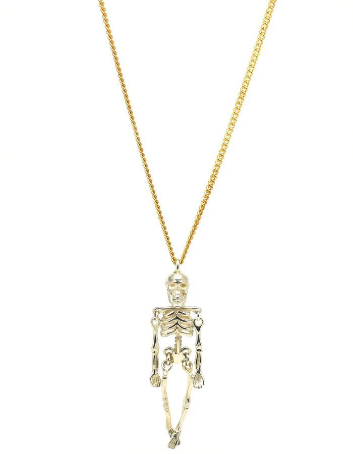 Ossibus Pendant Silver+Gold