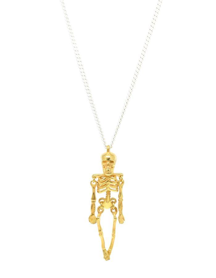 Ossibus Pendant Gold+Silver