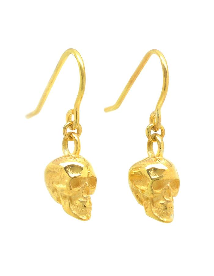Aurum Calvariam Drop Earrings
