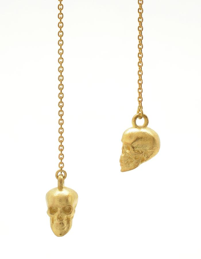 Aurum Calvariam Threader Earrings