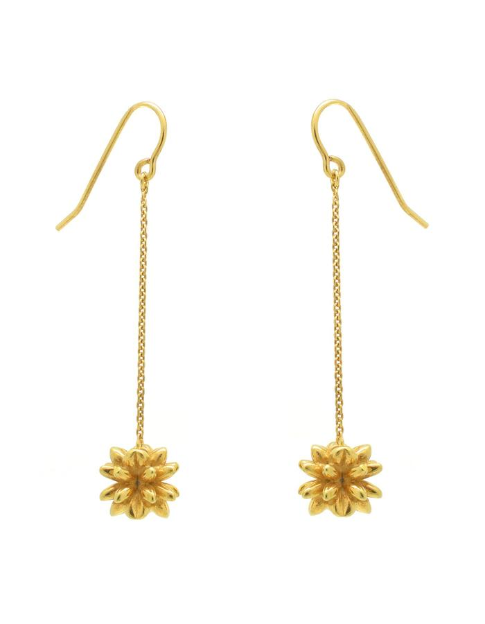 Aurum Pollen Drop Earrings