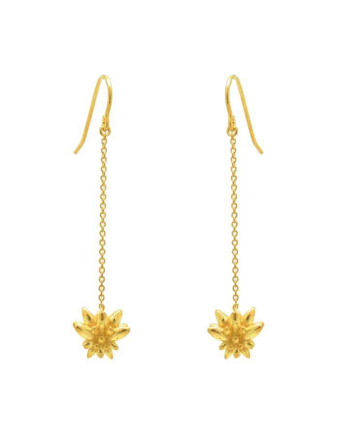 Aurum Stigma Drop Earrings
