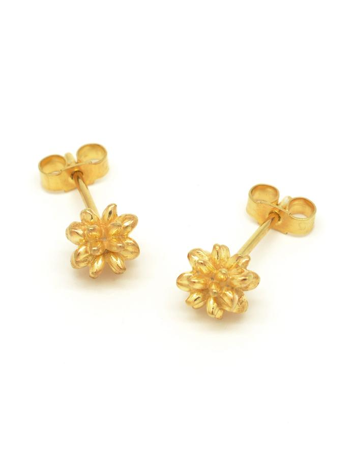 Aurum Pollen Stud Earrings