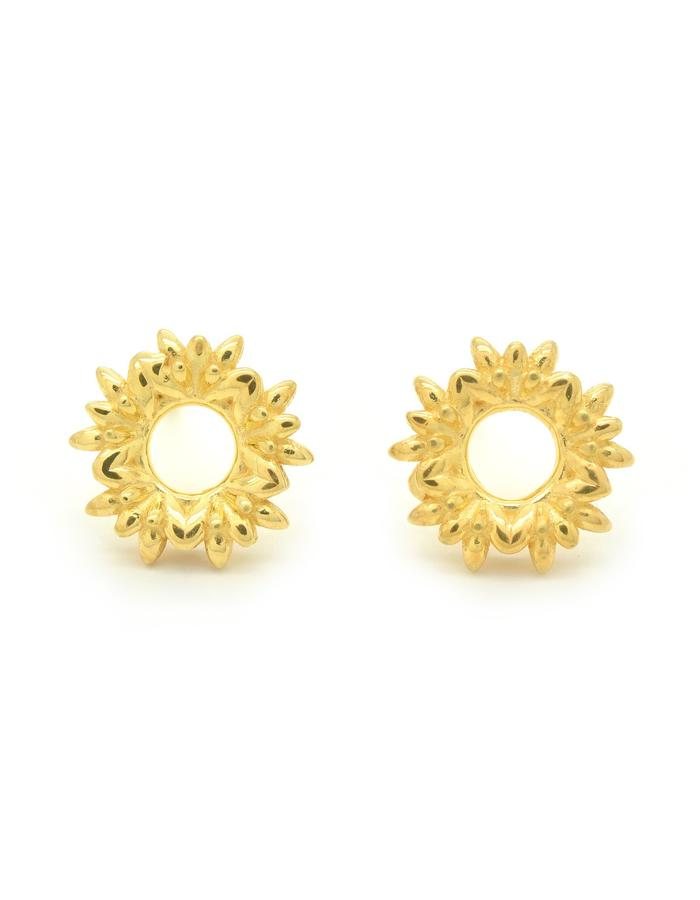 Aurum Floreo Wreath Stud Earrings