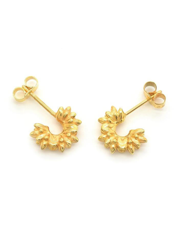 Aurum Floreo Stud Earrings