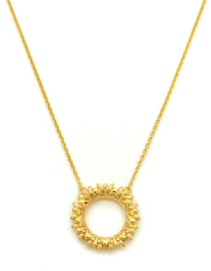 Mini Aurum Floreo Wreath Pendant